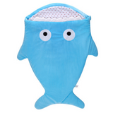 Sleeping Bag (Shark) - Blue
