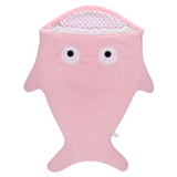 Sleeping Bag (Shark) - Pink