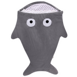 Sleeping Bag (Shark) - Grey