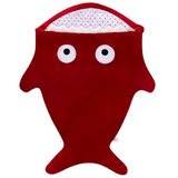 Sleeping Bag (Shark) - Red