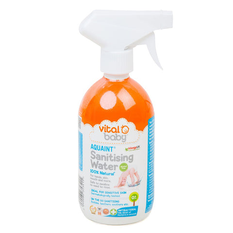 Vital Baby Aquaint Sanitising Water 500ml