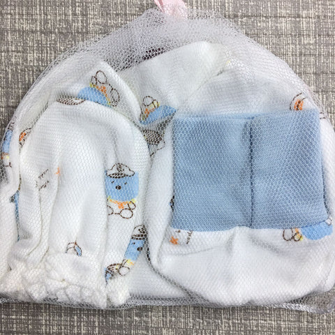 Baby Hat, Mittens and Booties Set (CTB016)