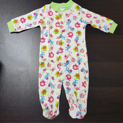 Korea MCC Baby Footed Jumpsuit - FJ004