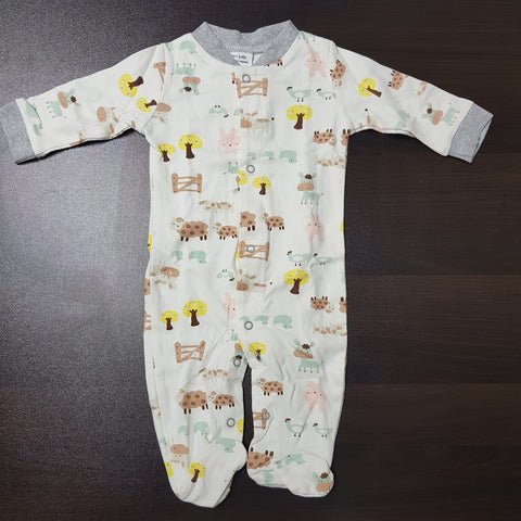 Korea MCC Baby Footed Jumpsuit - FJ011