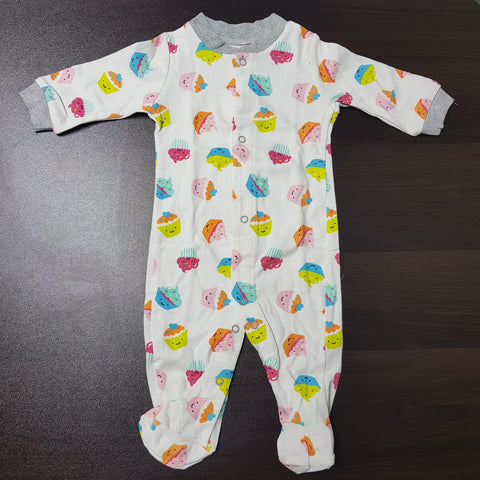 Korea MCC Baby Footed Jumpsuit - FJ010