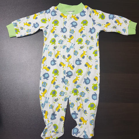 Korea MCC Baby Footed Jumpsuit - FJ023