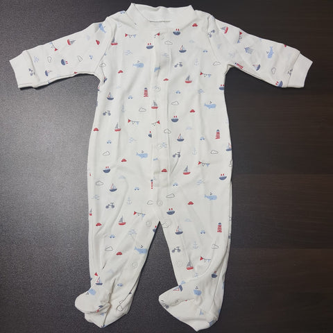 Korea MCC Baby Footed Jumpsuit - FJ024