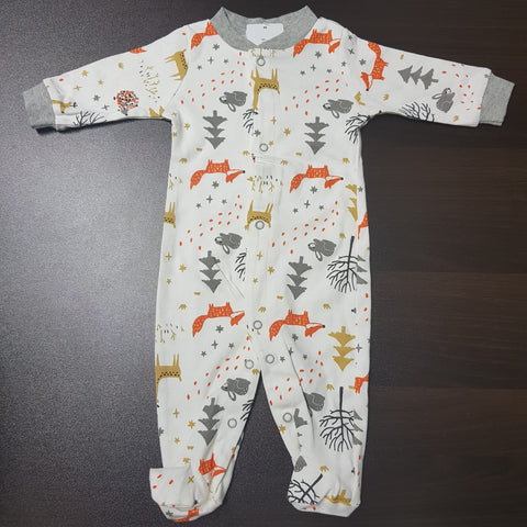 Korea MCC Baby Footed Jumpsuit - FJ038