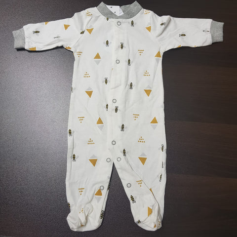 Korea MCC Baby Footed Jumpsuit - FJ039
