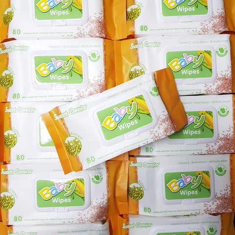 Baby Wipes - Vitamin E Mung Bean