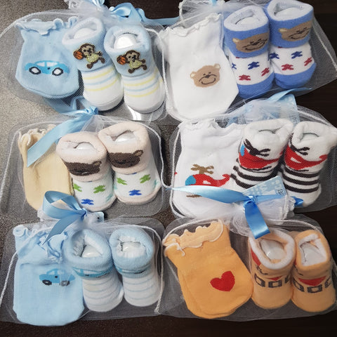 Mittens & Booties Set (Boy)