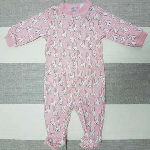 Korea MCC Baby Footed Jumpsuit - FJ003
