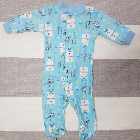 Korea MCC Baby Footed Jumpsuit - FJ005