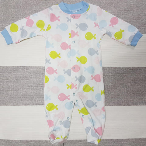 Korea MCC Baby Footed Jumpsuit - FJ006