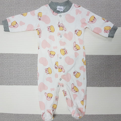 Korea MCC Baby Footed Jumpsuit - FJ015