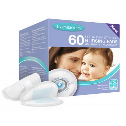 Lansinoh Disposable Nursing Breastpads 60s - UK Version