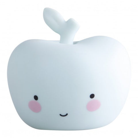 Baby Night Light - Apple (White)