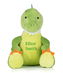 Personalised Dinosaur Soft Toy - Tiny Togs Ltd