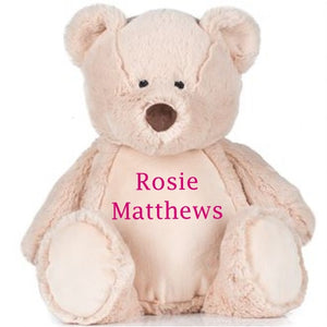 Personalised Teddy Bear - Tiny Togs Ltd