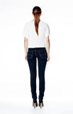 Mid Rise Skinny Jean Long - Ink