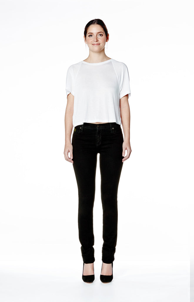 High Rise Skinny Jean - Overdye Black