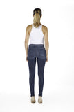 High Rise Skinny Ankle Jean - Spain