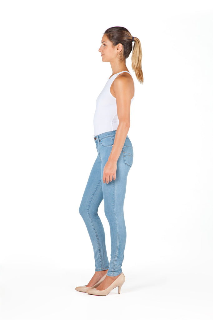 High Rise Skinny Ankle Jean - Athens