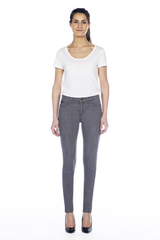 High Rise Skinny Ankle Jean - Shadow