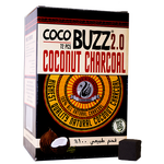Starbuzz CocoBuzz 2.0 Coconut Charcoal 72 Pieces.