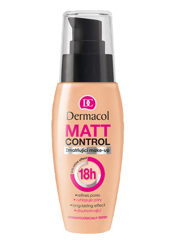 Dermacol Matt Control Make-up 18 h 1 fl oz