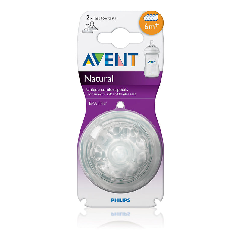 Philips Avent Natural - 2 Teats