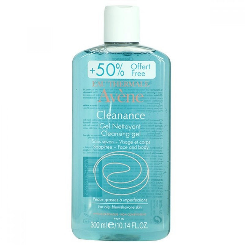Avene Cleanance Cleansing Gel for Face and Body 13.5 fl oz
