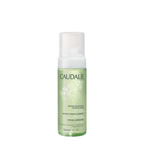 Caudalie Instant Foaming Make Up Remover and Cleanser 5 fl oz