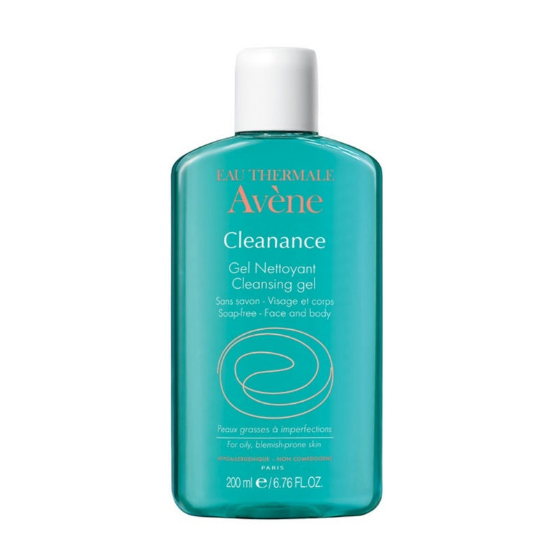 Avene Cleanance Cleansing Gel for Face and Body 6.8 fl oz