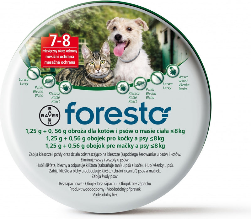 Foresto for Small Dogs and Cats