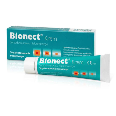 Bionect Cream Hyaluronic Acid Skin Regeneration 1 oz (30g)