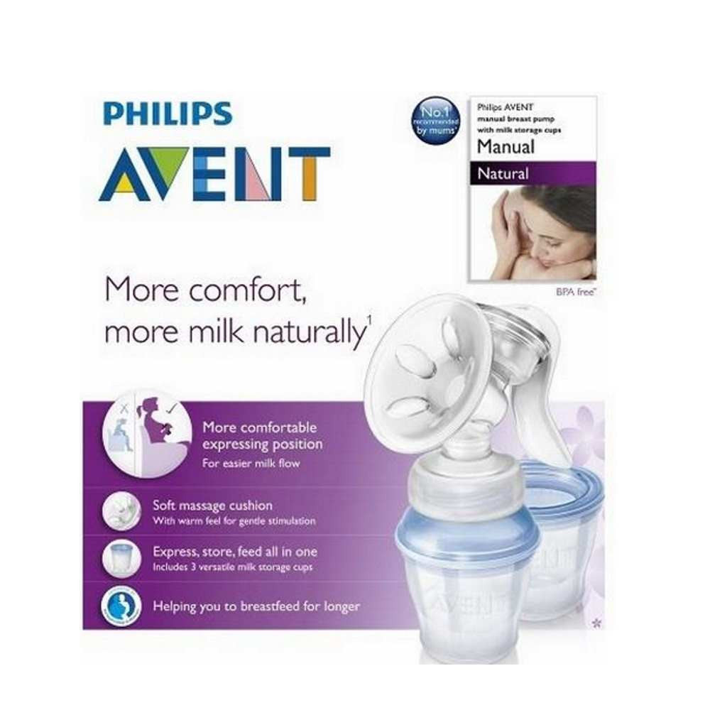 Philips Avent Scf33012 Manual Natural Breast Pump  E -1094