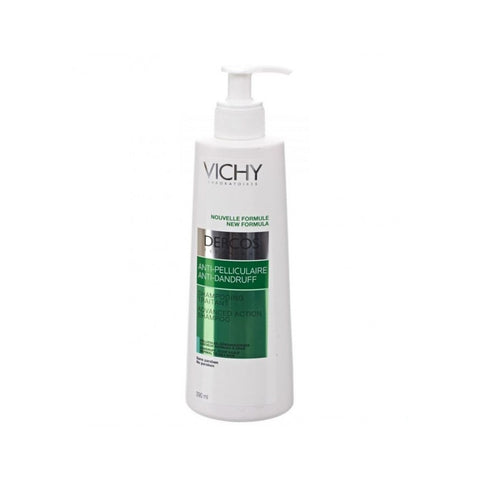 Vichy Dercos Anti-Dandruff Shampoo for Normal to Oily Hair 13.2 fl oz