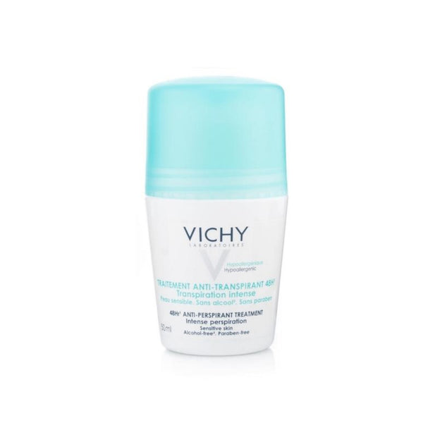Vichy Deodorant Antiperspirant For Women 48 Hours Roll-on 1.7 fl oz