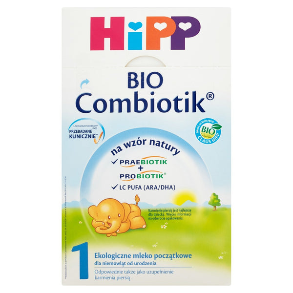 HiPP Organic Bio Combiotic Formula 1 - from birth 21.2 oz