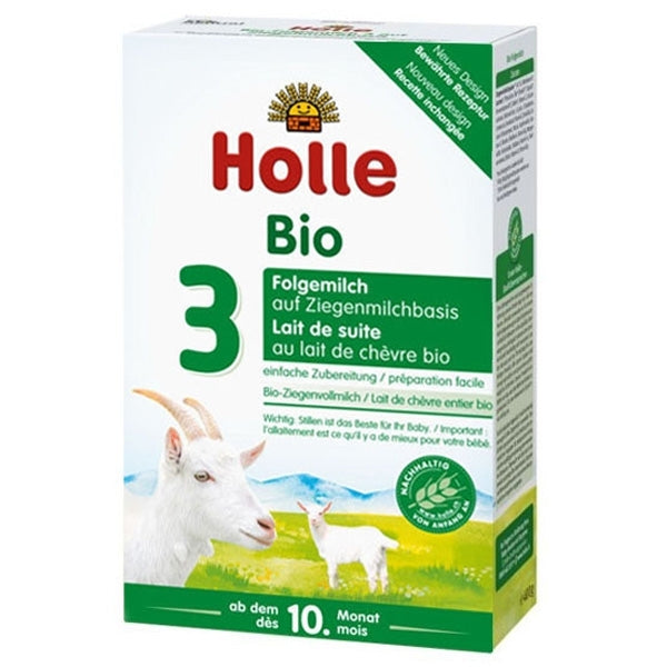 Holle Organic Infant Goat Milk Formula 3 - from 10 months 14.1 oz