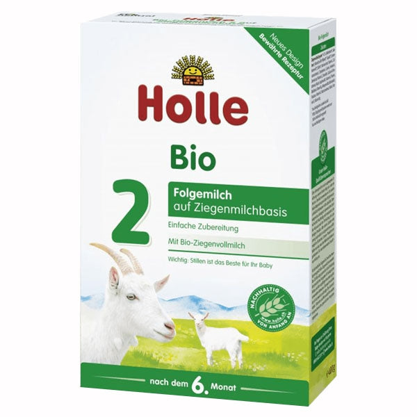 Holle Organic Infant Goat Milk Formula 2 - from 6 months 14.1 oz