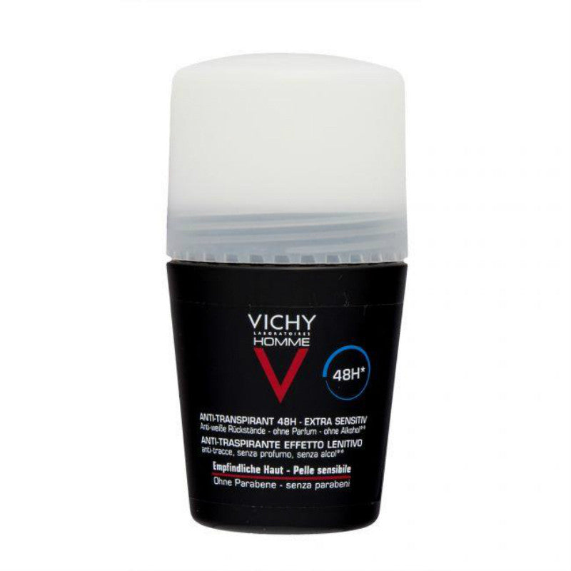 Vichy Homme Deodorant Antiperspirant For Men 48 Hours Roll-on 1.7 fl oz