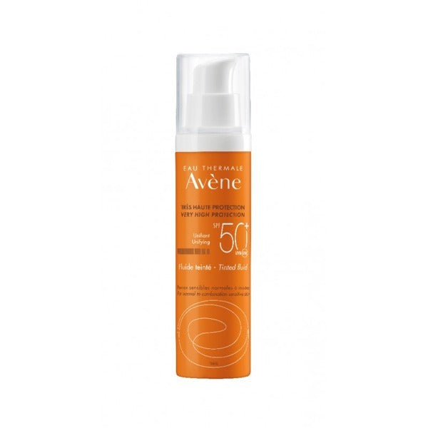 Avene Sun Fluid Tinted SPF50+ 1.7 fl oz with pump