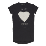 RYB How Deep is Your Love Tshirt Dress
