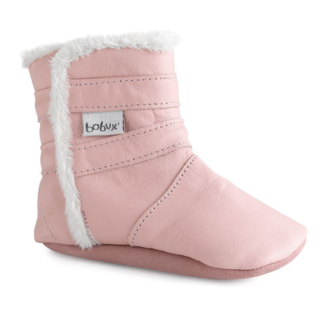 Bobux - Pink Boot - Soft Sole
