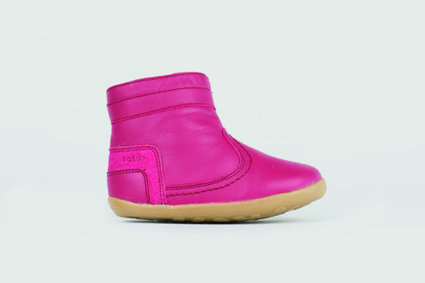 Bobux Step Up - Bolt Boot - Rose