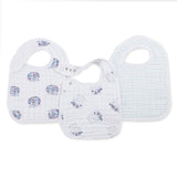 Snap Bibs - 3 pack Thistle