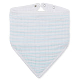 Bandana Bib - Green Stripe
