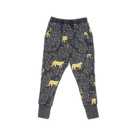 Zuttion Leopard Diamond Trackie